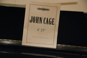 "John Cage 4'33"" Four Minutes thirty-three seconds silence"