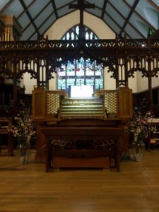Pipe Organ, Ginny Chilton Maxwell, Congregational Song, Singing, Church, Worship