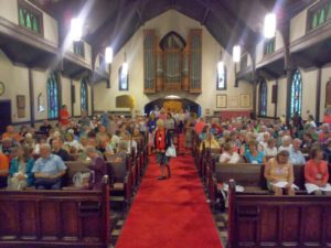 Congregational Song, St. George's Camp, Summer Camp Worship, Worship