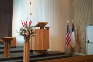 Church, Flag, Patriotism, Worship, Ginny Chilton
