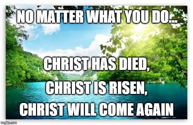 Holy Week, Christ, Musician